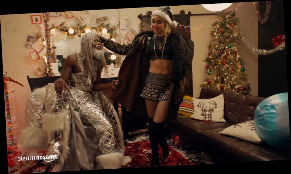 Lil Nas X Offers Miley Cyrus Seasonal Style Advice in Teaser for Amazon Music's 'Holiday Plays'
