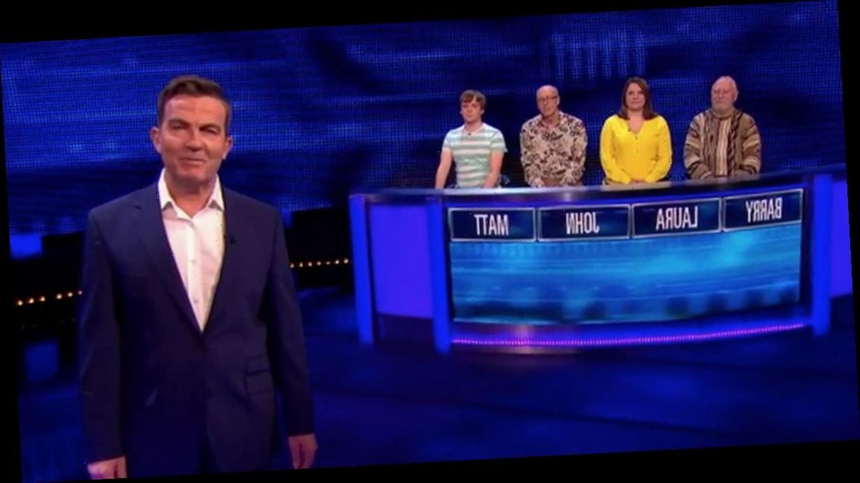 The Chase player red-faced as Bradley Walsh corrects him in awkward moment