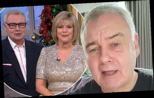 Eamonn Holmes bids farewell to This Morning fans after axe