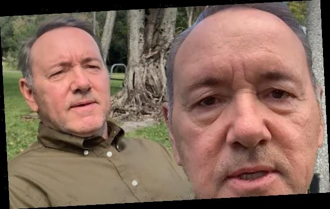 Kevin Spacey posts Christmas video with suicide prevention message