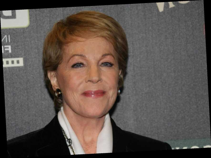 How old is Julie Andrews, why isn't she starring in Mary Poppins Returns and what has she said about the film?