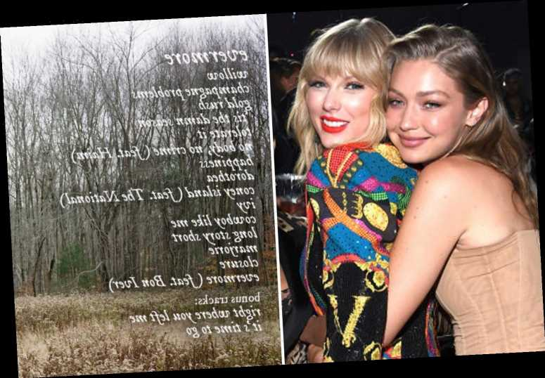 Fans believe Taylor Swift may have revealed Gigi Hadid and Zayn Malik's baby girl's name in new album Evermore