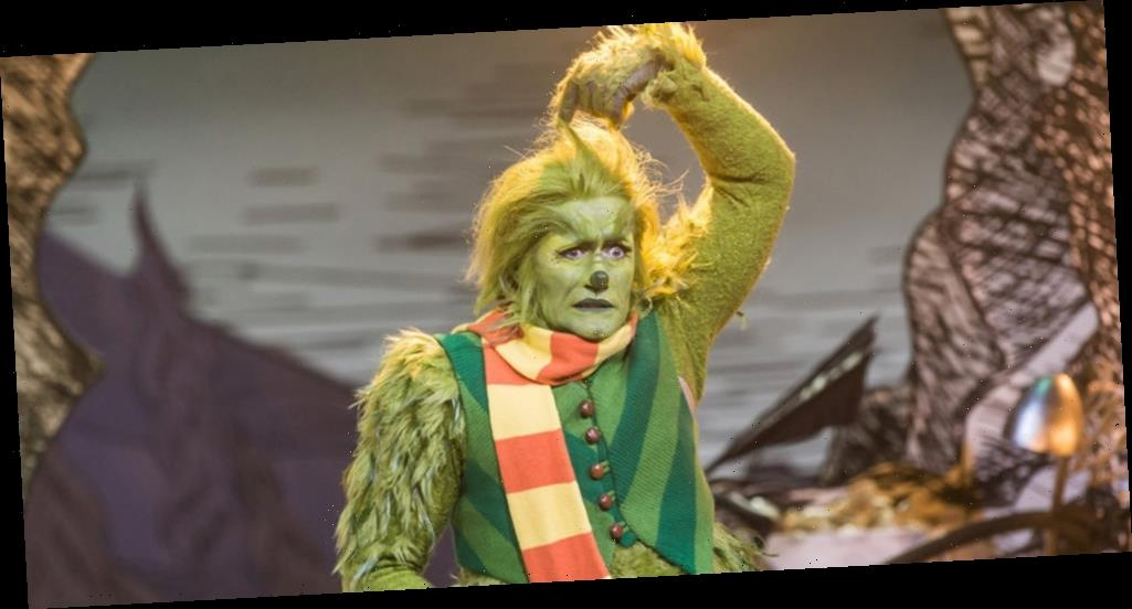 It Took Matthew Morrison Over Three Hours To Put On The Grinch Costume For 'Dr. Seuss' The Grinch Musical'