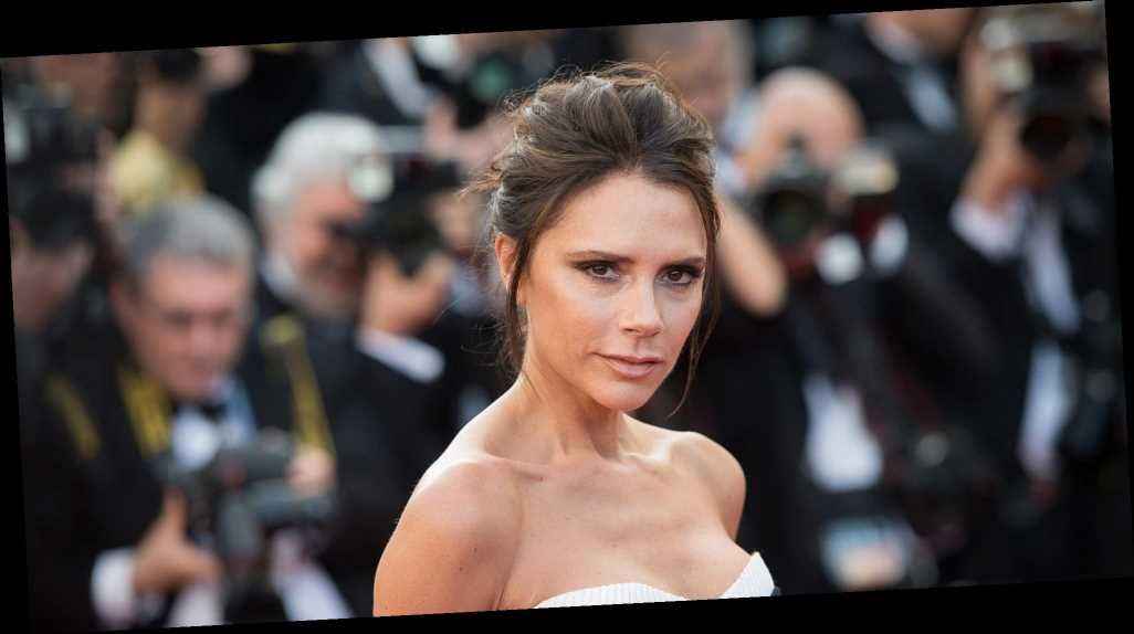 Victoria Beckham Corralling Her Kids for a Christmas Card Photo Is So Relatable