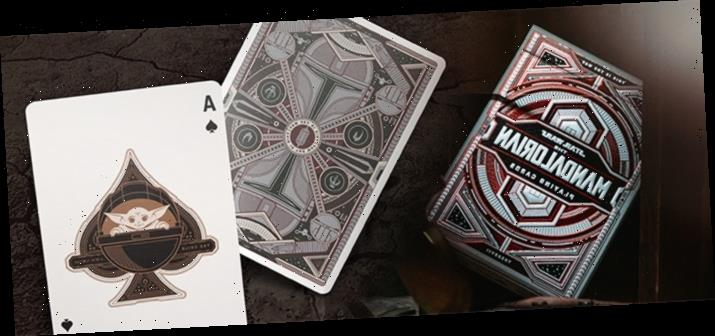 Cool Stuff: You'll Like the Odds When Playing with 'The Mandalorian' Playing Cards