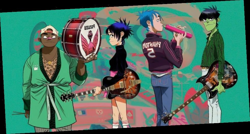 Gorillaz to Perform Immersive Livestream Shows With 14-Piece Band