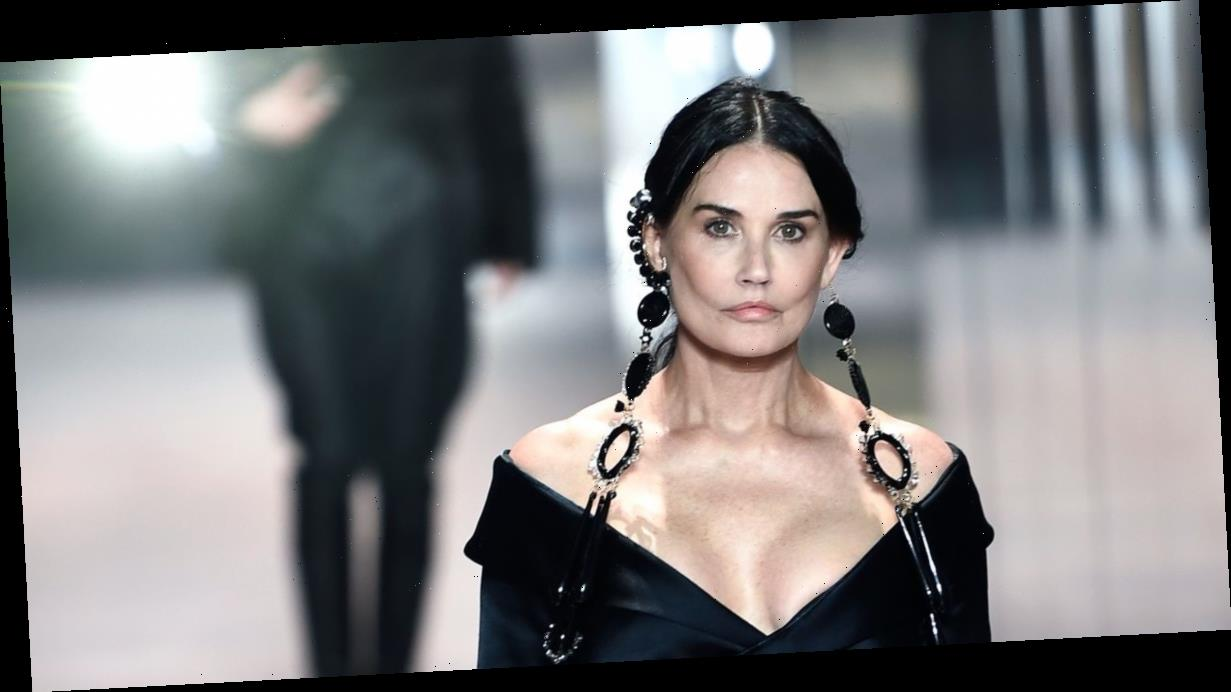 Demi Moore shows off very different look and sparks surgery speculation after runway walk