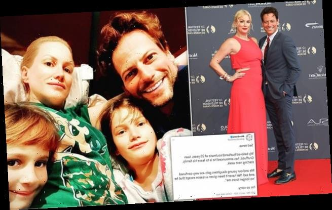 Ioan Gruffudd's wife Alice Evans reveals actor is 'leaving the family'