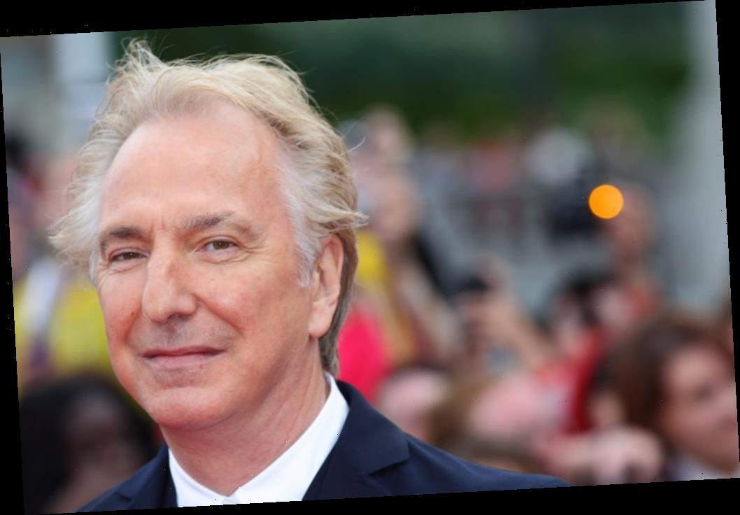Alan Rickman Told No One About His Fatal Cancer While Filming 'Alice Through the Looking Glass'