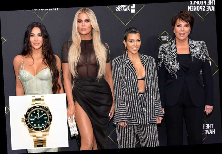Kim, Khloe, Kourtney and Kris 'surprise Keeping Up With the Kardashians crew with Rolex watches' after final episode