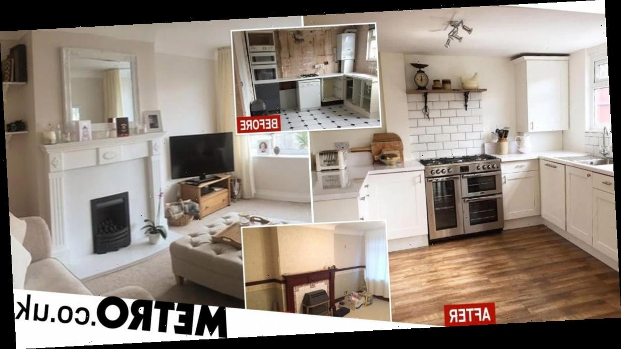 First-time buyer renovates mouldly home during lockdown and adds £45k to value
