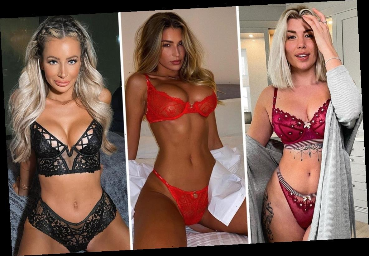 From Zara McDermott to Olivia Attwood – the celebrities who ditched comfy clothes for sexy lingerie in lockdown