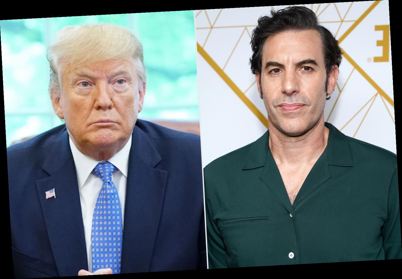 Sacha Baron Cohen Calls on Facebook, Twitter, YouTube to Ban President Trump 'Once and for All'
