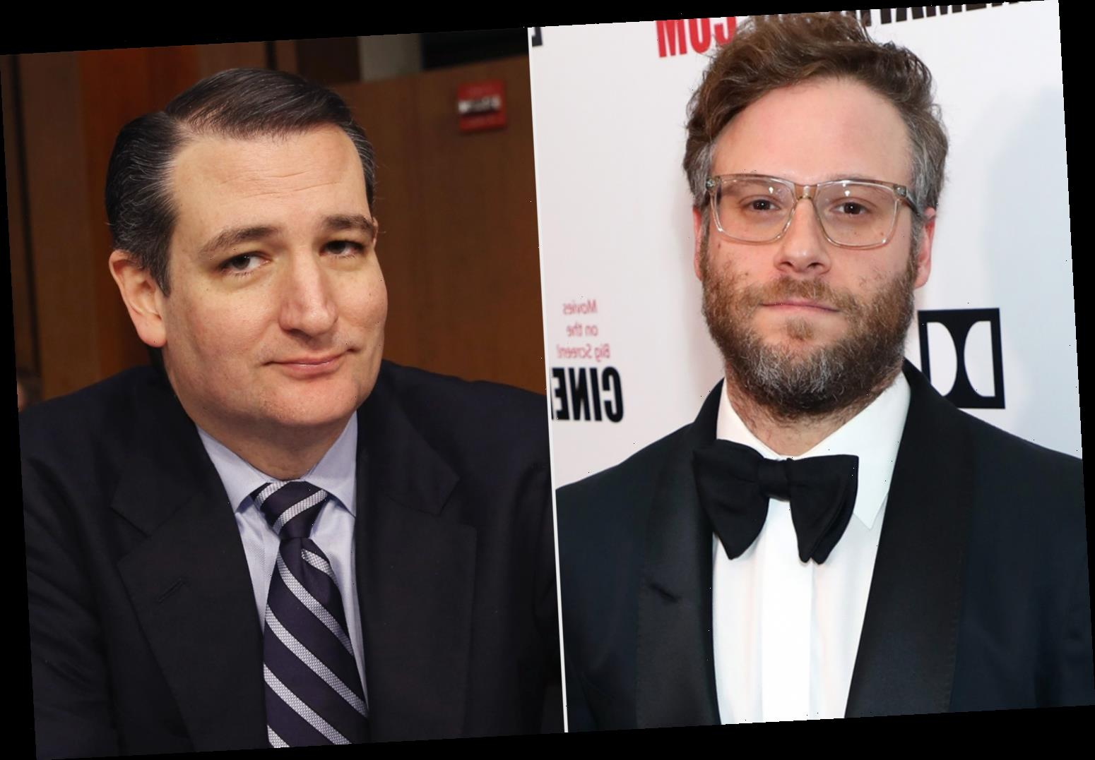 Seth Rogen and Ted Cruz War on Twitter Covering Everything from Paris Climate Accord to Disney's Fantasia