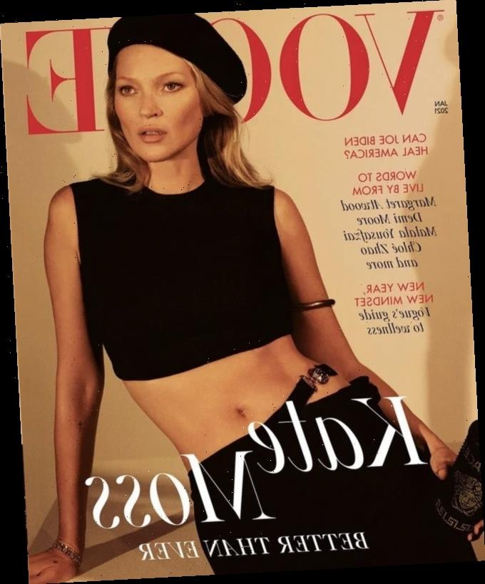 Kate Moss covers British Vogue, talks about her favorite 'Absolutely Fabulous' episode