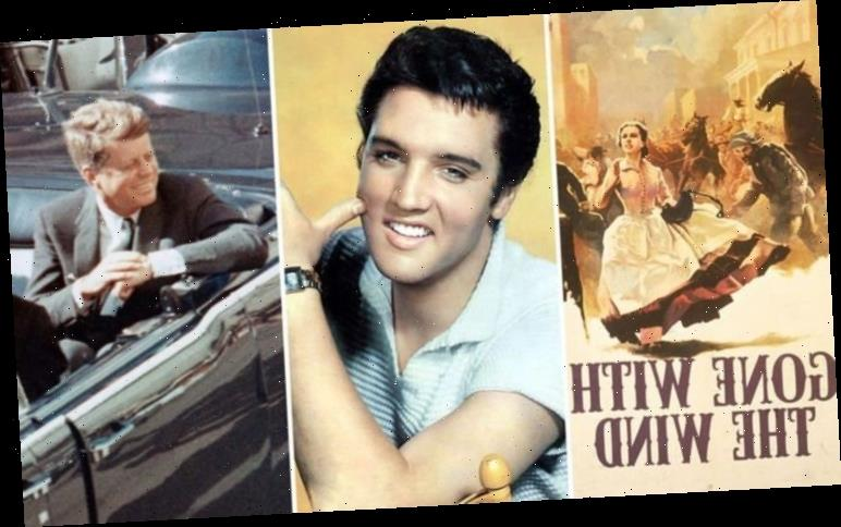 Elvis Presley's book collection: From JFK's assassination to Gone with the Wind and more