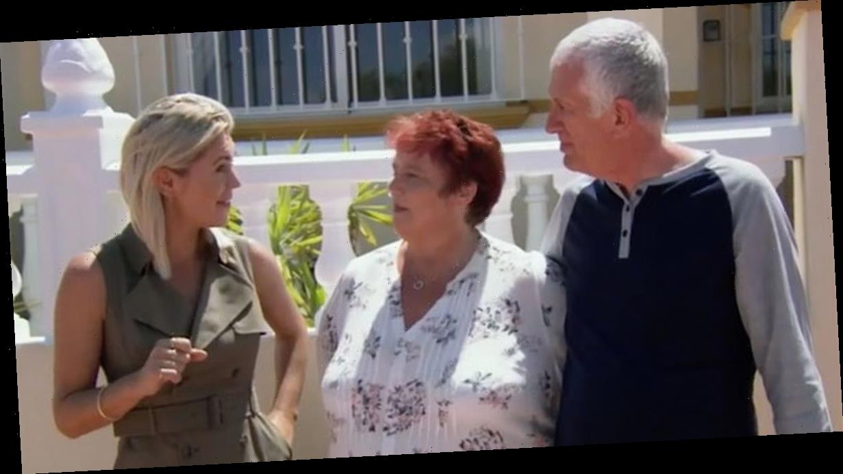 A Place in the Sun host snaps 'I can't help you' as couple make property U-turn