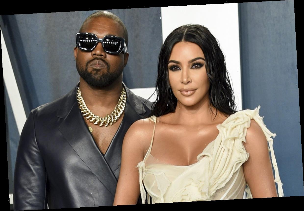 Kim Kardashian and Kanye West's marriage was over two years before divorce as stars hit a 'rough patch'