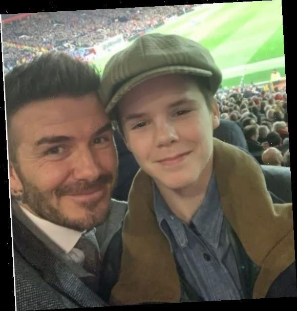 David Beckham sings Friends theme tune to son Cruz on his birthday – and he actually has a good voice