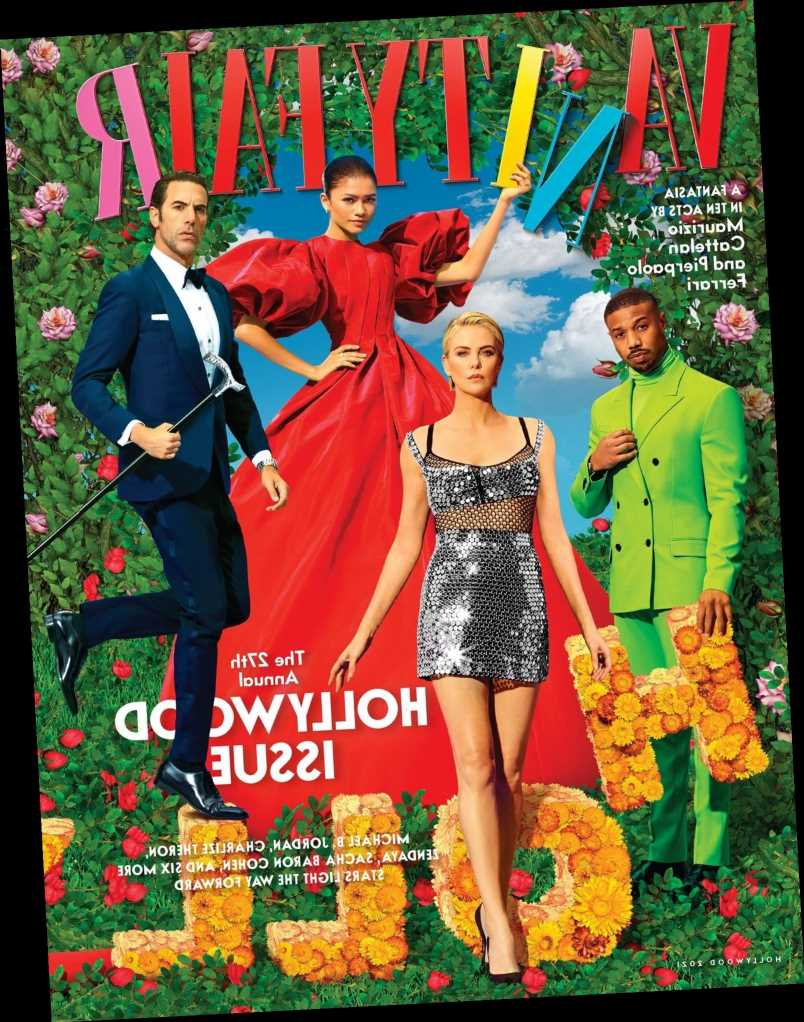 Vanity Fair's 2021 Hollywood Issue cover & editorial: offensively bad or just meh?