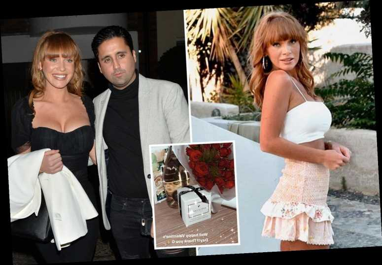 Summer Monteys-Fullam thanks mystery man for huge Valentine's gift – sparking rumours it's her Towie ex Liam Gatsby