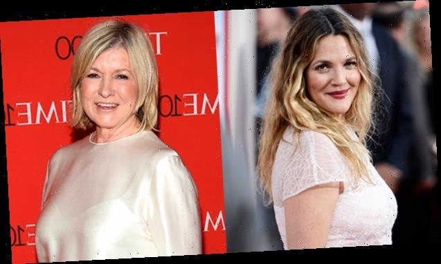 Drew Barrymore Leaves 'Inappropriate' Comment On Martha Stewart's Hot New Pic: 'You Are So Hot'