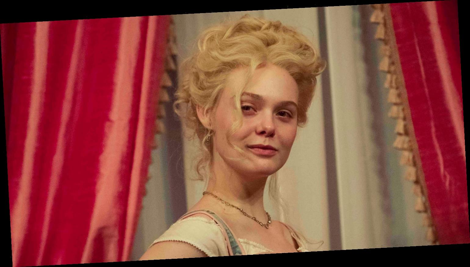 Elle Fanning Shows Off Pregnant Belly In First Look Photo at 'The Great' Season 2