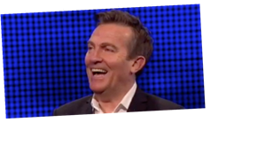 The Chase host Bradley Walsh cries with laughter at 'gritty beaver' innuendo