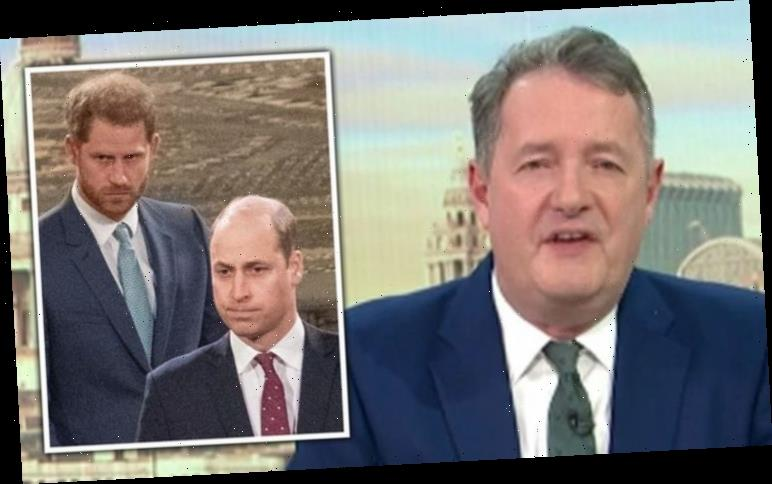 'Show compassion to your brother!' Piers Morgan slams Prince Harry over 'crass' Oprah chat