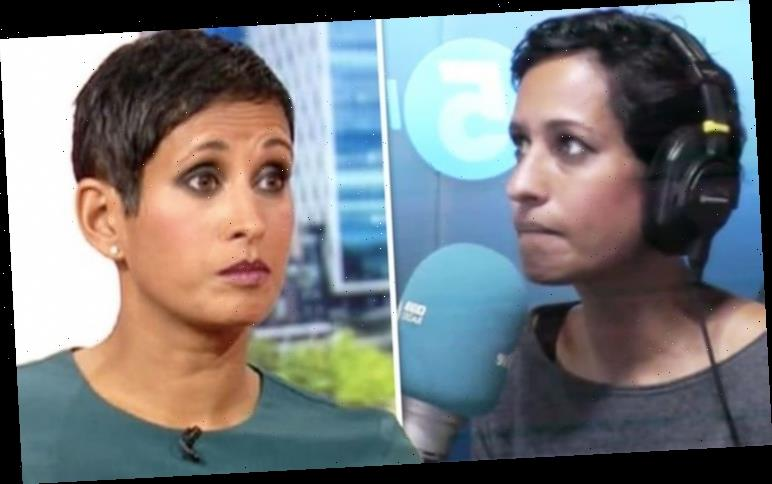 Naga Munchetty forced to apologise for 'inappropriate language' as guest swears on-air