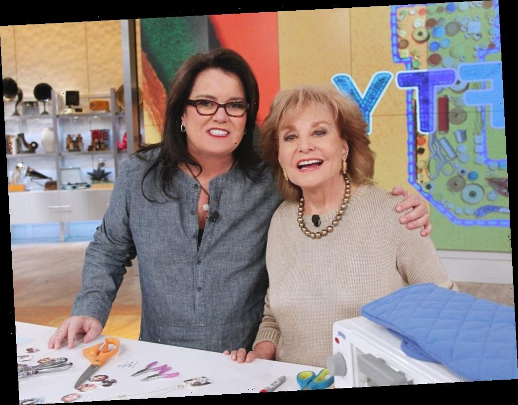 'The View': Barbara Walters 'Wanted to Cry' After Reading What Rosie O'Donnell Wrote About Her in Her Memoir