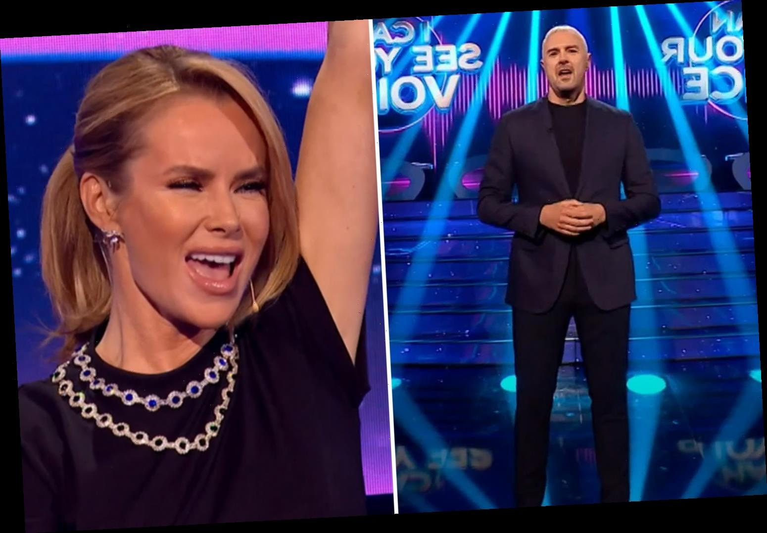 Amanda Holden and Paddy McGuinness to front hilarious new BBC talent show I Can See Your Voice