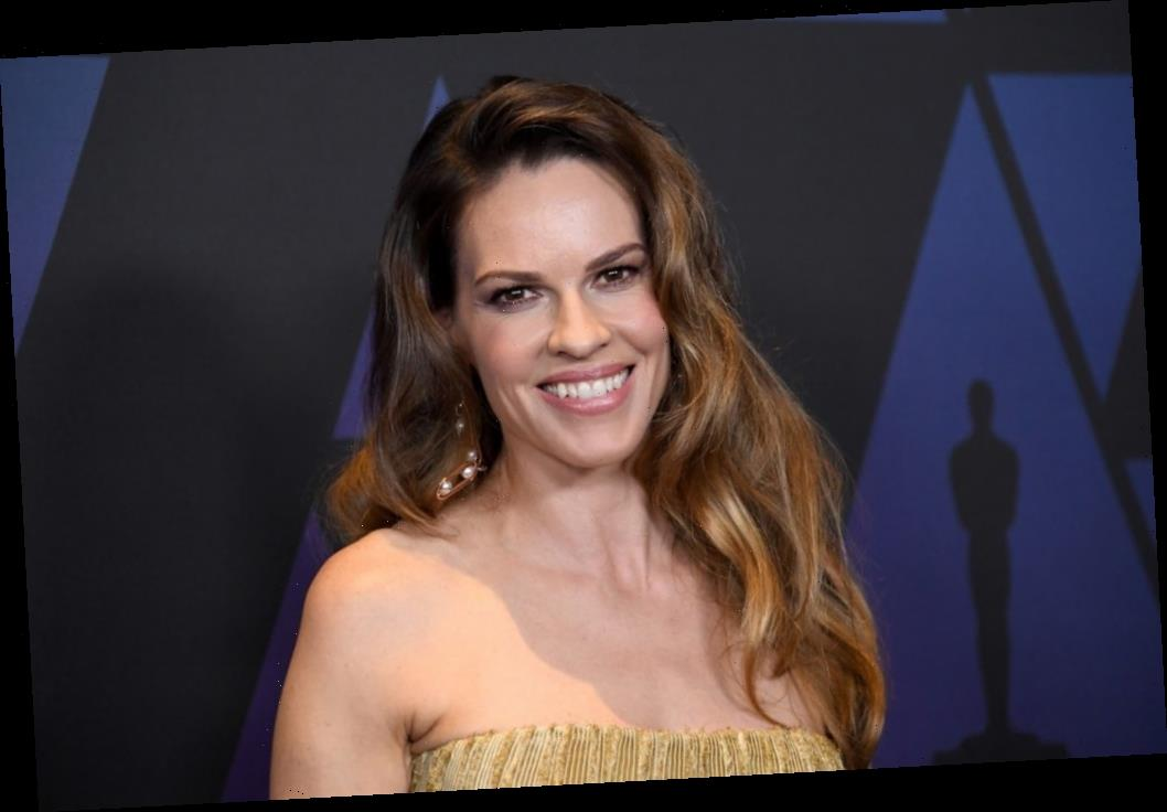 Hilary Swank Lived As a Man For a Month to Prepare For a Movie