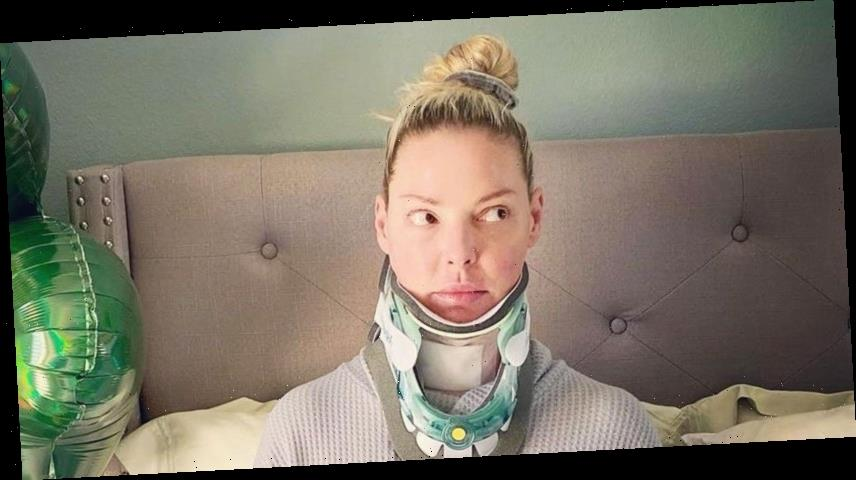 Katherine Heigl Says She's 'Bionic' After Neck Surgery: Pictures