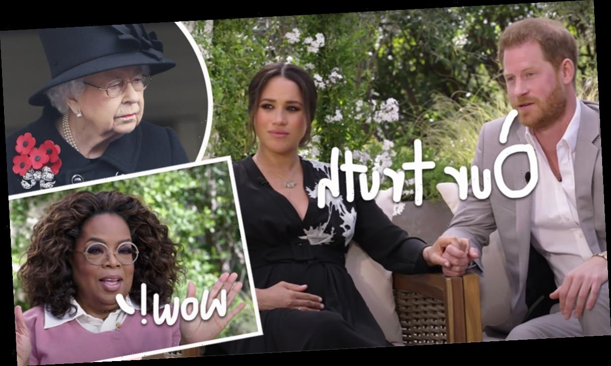 Racism, Suicidal Thoughts, & Royal Tears – All The EXPLOSIVE Moments From Meghan Markle & Prince Harry Tell-All Interview With Oprah!