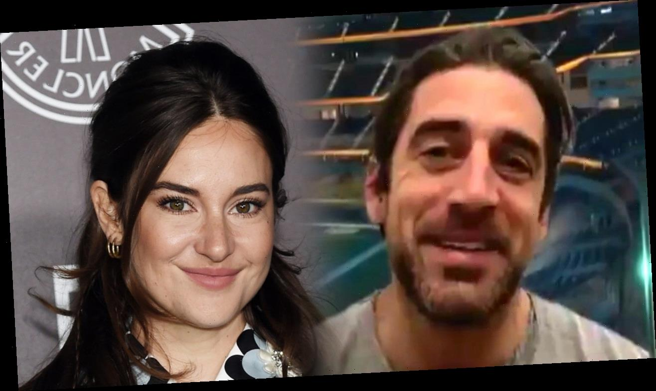 Aaron Rodgers and Shailene Woodley Are Spotted Together for First Time