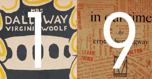 Was 1925 Literary Modernism's Most Important Year?
