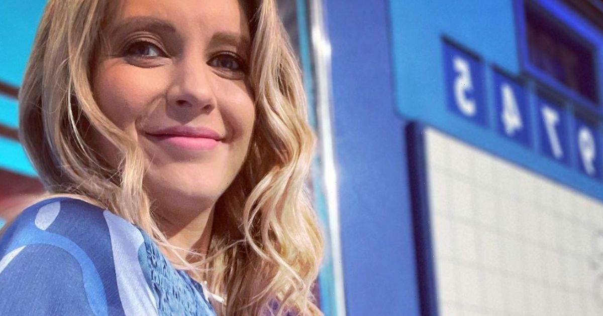 Countdown star Rachel Riley shares gorgeous bump photos in a stunning dress after announcing baby news
