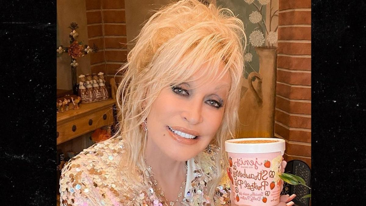 Dolly Parton's Ice Cream Flavor Hawked on eBay for $1,000