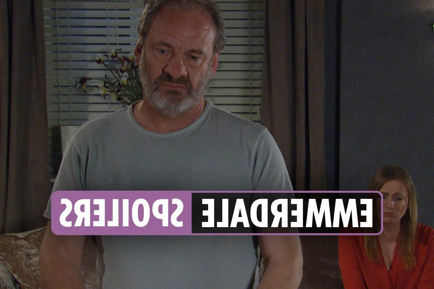 Emmerdale spoilers: Nicola tries to con husband Jimmy out of half of the business to hand it over to Charity Dingle