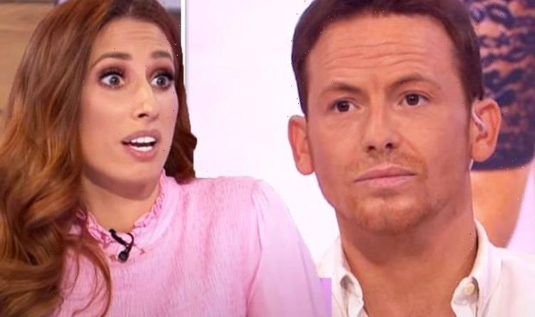 Stacey Solomon blasts Joe Swash for causing her to suffer wardrobe blunder: 'You idiot!'