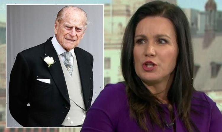'What is wrong with you?' GMB's Susanna Reid snubbed by Prince Philip over 'failure'