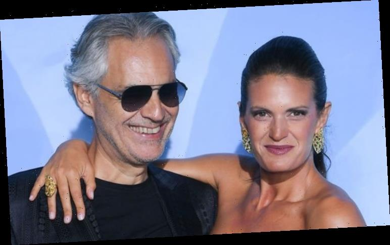 Andrea Bocelli: Veronica explains how their marriage works as his wife AND manager