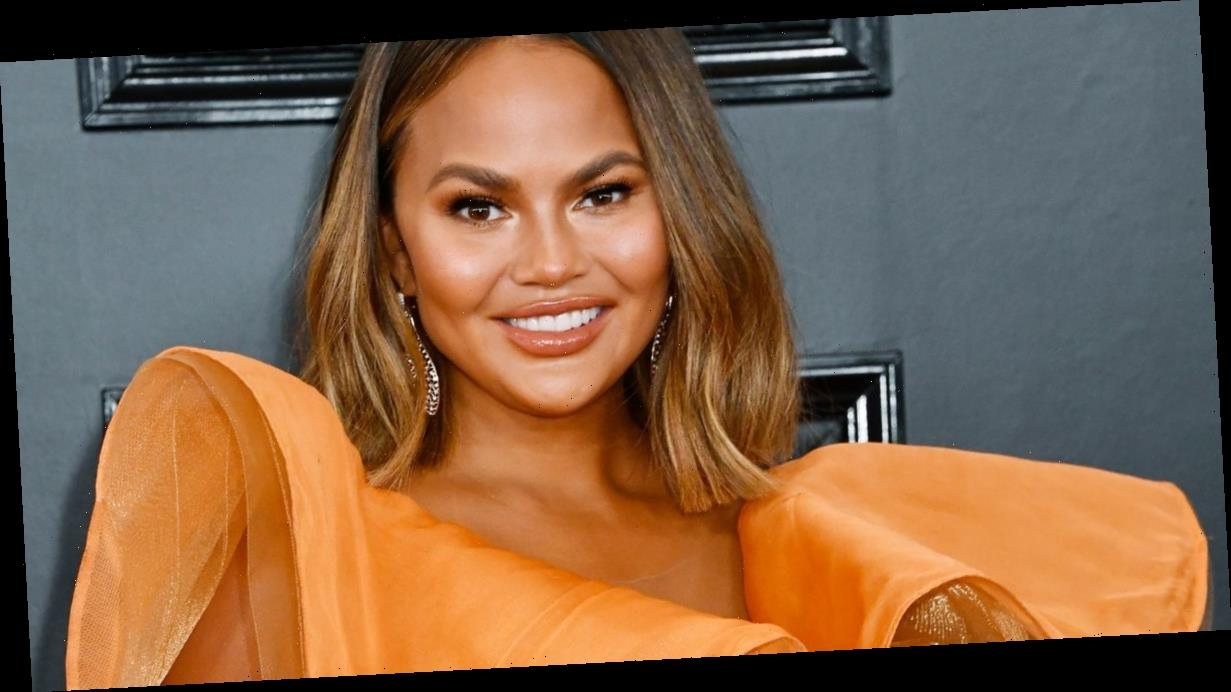 Chrissy Teigen wows fans as she shows off colourful pink hair transformation