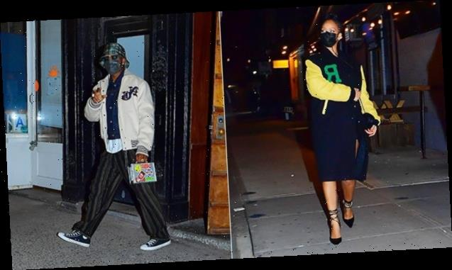 Rihanna Sneaks Out For Secret Late-Night Dinner With A$AP Rocky In NYC — See Pics