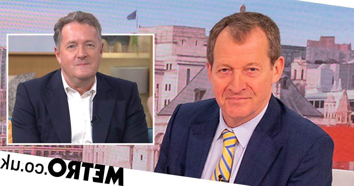 Alastair Campbell clashes with Piers Morgan days into Good Morning Britain stint