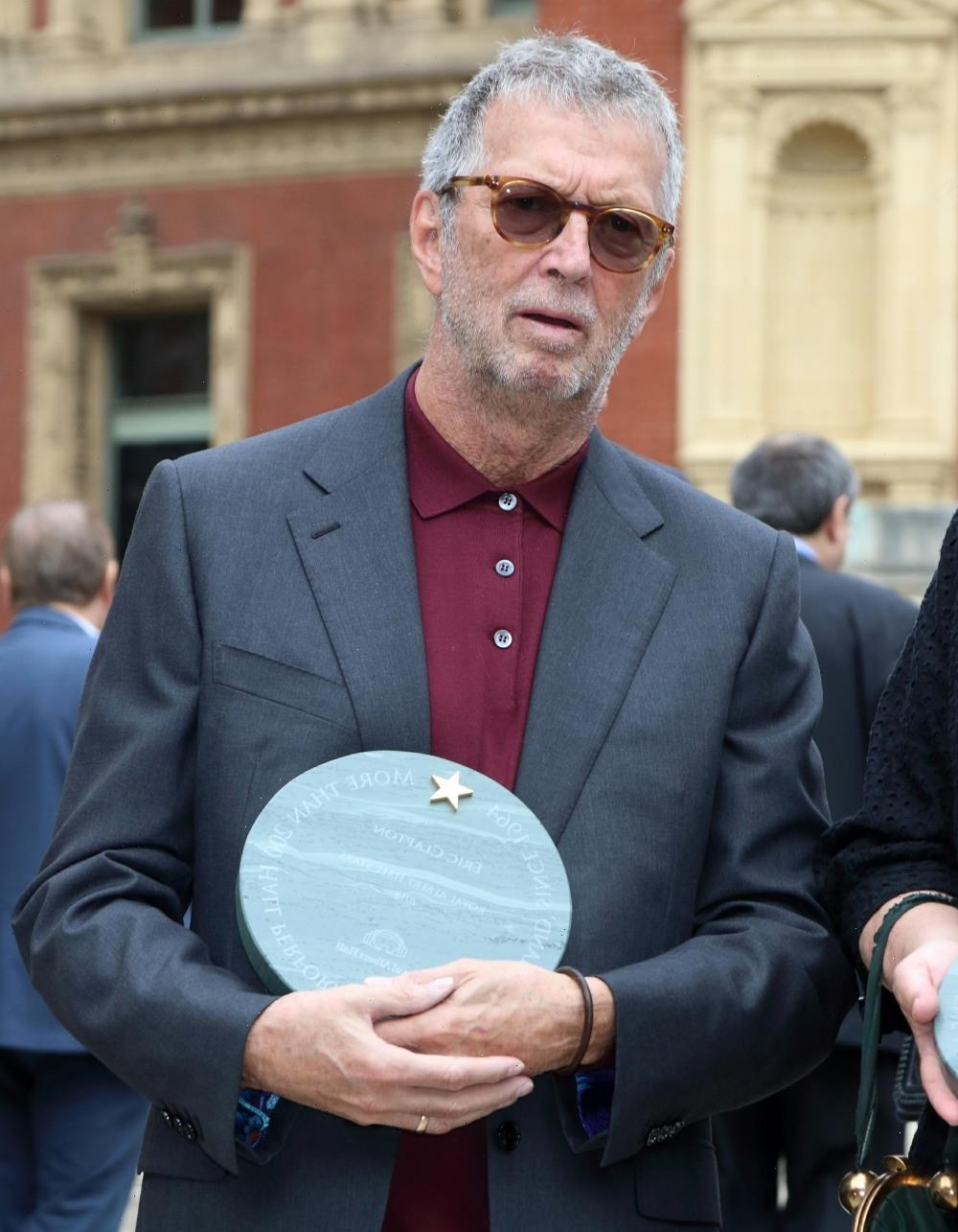 Eric Clapton had side effects with the AstraZeneca vaxx, so now he's anti-Vaxx