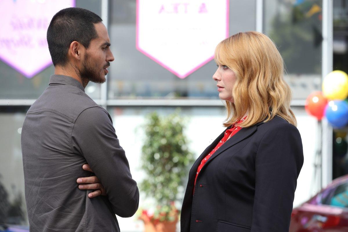 'Good Girls': Christina Hendricks Says Her Working Relationship With Manny Montana Is More 'Respectful' Than Beth and Rio's