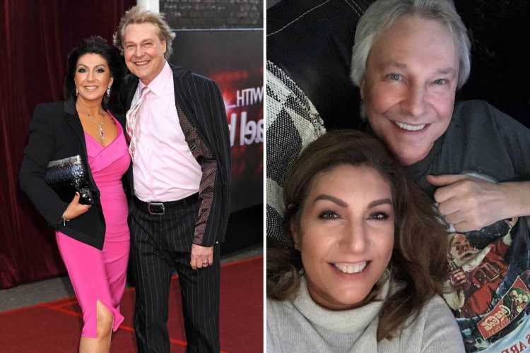 Jane McDonald breaks her silence after fiancé's death and says he 'taught her life is for living'