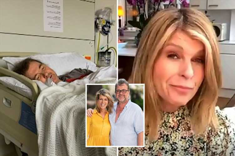 Kate Garraway says husband Derek is 'devastated by Covid and still can't move'